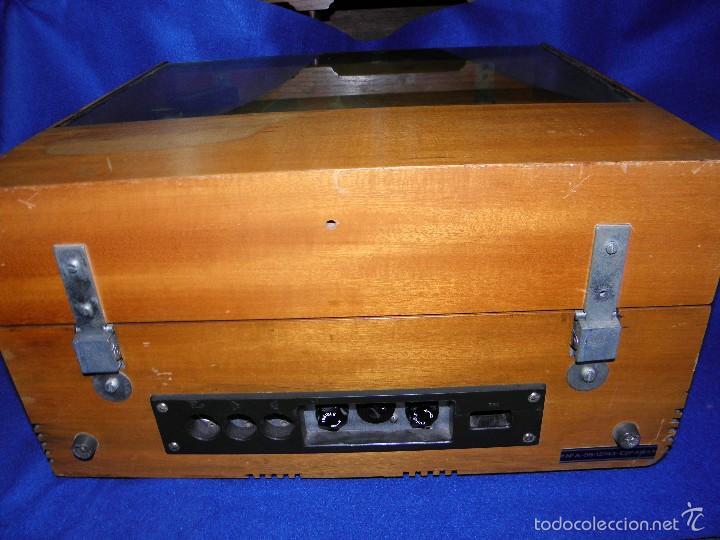 Radios antiguas: TOCADISCOS PERPETUUM-EBNER DE LUXE - Foto 8 - 55142055