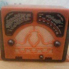 Radios antiguas: RADIO EN MINIATURA RADIOMAELLI VERTUMO II ITALIA 1934 - -DE COLECCION. Lote 55314219