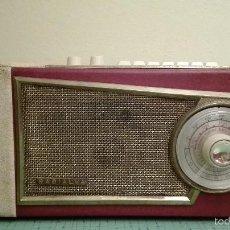 Radios antiguas: TRANSISTOR RADIALVA. Lote 55528486