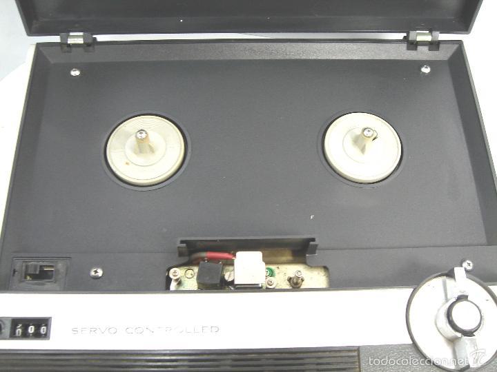 Radios antiguas: MAGNETOFON DICTAFONO - PORTATIL - SONY SOLID STATE TC-222 - MAGNETOFONO GRABADORA - TC222 - Foto 3 - 55685073