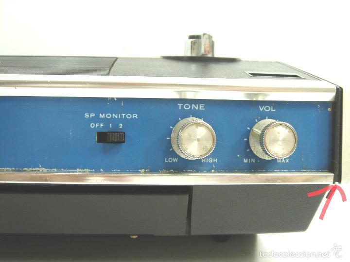Radios antiguas: MAGNETOFON DICTAFONO - PORTATIL - SONY SOLID STATE TC-222 - MAGNETOFONO GRABADORA - TC222 - Foto 6 - 55685073