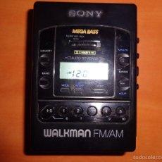 Radios antiguas - WALKMAN SONY MEGA BASS SOLO FUNCIONA LA RADIO, EL CASSETTE NO. VINTAGE - 55877974