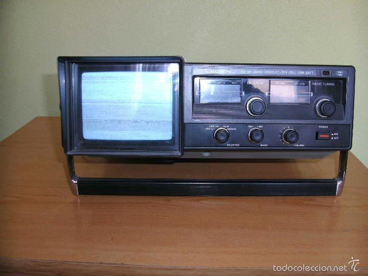 TRANSISTOR TV & FM/AM 2-BAND RADIO 5TV-67 R (Radios, Gramófonos, Grabadoras y Otros - Transistores, Pick-ups y Otros)