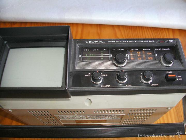 Radios antiguas: Transistor TV & FM/AM 2-Band Radio 5TV-67 r - Foto 2 - 56005550