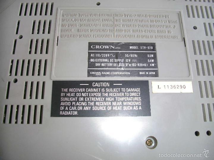 Radios antiguas: Transistor TV & FM/AM 2-Band Radio 5TV-67 r - Foto 3 - 56005550
