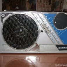 Radios antiguas: RADIO TRANSISTOR INTERNATIONAL AM/FM. Lote 56117662