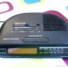 Radios antiguas: RADIO DESPERTADOR SONY / FM/AM CLOCK RADIO ICF-C270. Lote 56145140