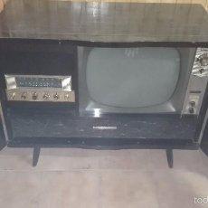 Radios antiguas: RADIOGRAMOLA OLYMPIC CON TELEVISOR. Lote 56334497