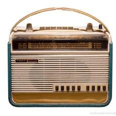Rádios antigos: RADIO PORTÁTIL PIZON BROS TRASLITOR SUPER SEVEN. FRANCIA, AÑO 1961. Lote 178917960