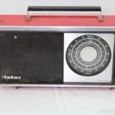 Radios antiguas: RADIO TRANSISTOR INTER NIZA LL AM. Lote 56559885