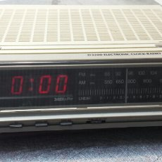 Radios antiguas: ANTIGUO RADIO DESPERTADOR PHILIPS. Lote 56728620