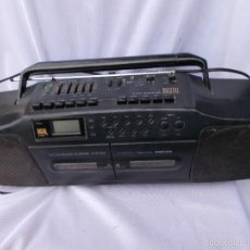 Radios antiguas: RADIO CASET DIGITAL, CON DOBLE PLETINA. FUNCIONA. Lote 218232702