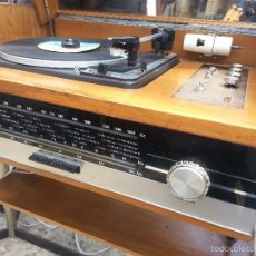Radios antiguas: TOCADISCOS.PICKUP.RADIO.MUEBLE.. Lote 56882734