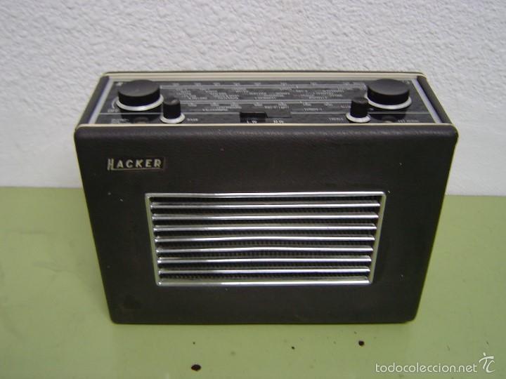 Radios antiguas: RADIO INGLESA HACKER HERALD MOD. RP35 - Foto 2 - 56995674