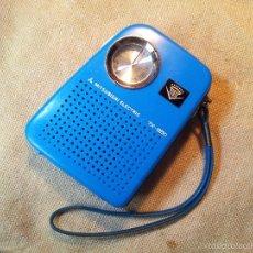 Radio antiche: RADIO TRANSISTOR MITSUBISHI 7X-850 DE BOLSILLO AÑOS 70..FUNCIONANDO PERFECTAMENTE. Lote 57042111