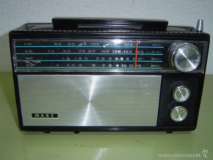 RADIO MARC MODELO NR 1510 (Radios, Gramófonos, Grabadoras y Otros - Transistores, Pick-ups y Otros)