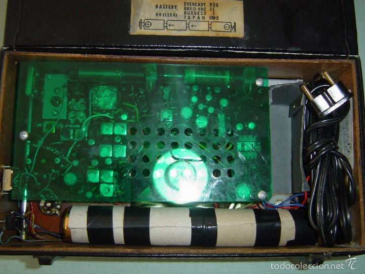 Radios antiguas: RADIO MARC MODELO NR 1510 - Foto 3 - 57074986