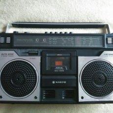 Radios antiguas - RADIO CASSETTE SANYO M4100LU - 57109217