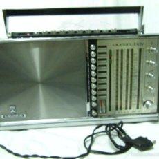 Radios antiguas: RADIO TRANSISTOR GRUNDING AÑO 60 MOD.OCEAN-BOY-GRAN DIMENSION. Lote 57129618