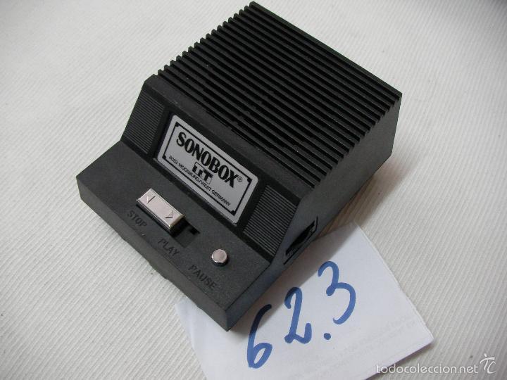 PICK UP SONOBOX (Radios, Gramófonos, Grabadoras y Otros - Transistores, Pick-ups y Otros)