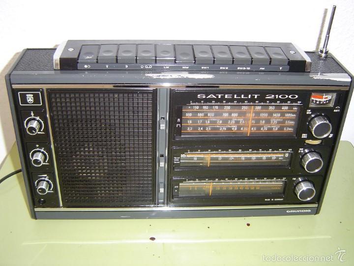 RADIO GRUNDIG SATELLIT 2100 (Radios, Gramófonos, Grabadoras y Otros - Transistores, Pick-ups y Otros)