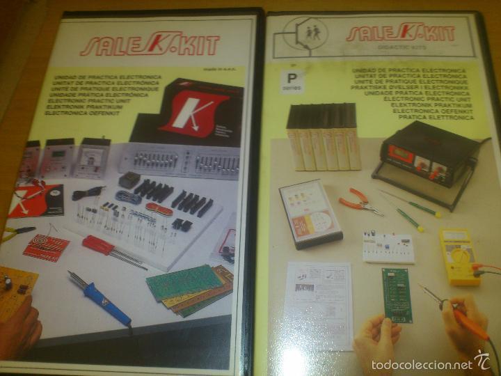 SALES KIT SERIE P 101/ P-103 PRACTICA ELECTRONICA - 1993 (Radios, Gramófonos, Grabadoras y Otros - Transistores, Pick-ups y Otros)