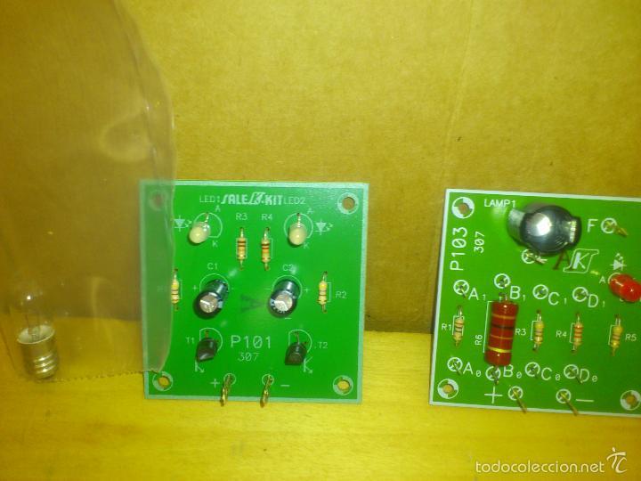 Radios antiguas: SALES KIT SERIE P 101/ P-103 practica ELECTRONICA - 1993 - Foto 2 - 57209915