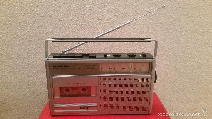 ANTIGUA RADIO TRANSISTOR VINTAGE CONTINENTAL EDISON RC 5085 CASSETTE (Radios, Gramófonos, Grabadoras y Otros - Transistores, Pick-ups y Otros)