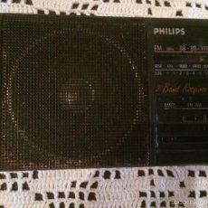 Radios antiguas: ANTIGUA RADIO TRANSISTOR MARCA PHILIPS DE LOS AÑOS 70 FUNCIONANDO . Lote 57411963