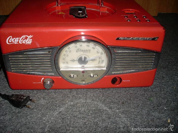 RADIO ANTIGUA COCA COLA (Radios, Gramófonos, Grabadoras y Otros - Transistores, Pick-ups y Otros)