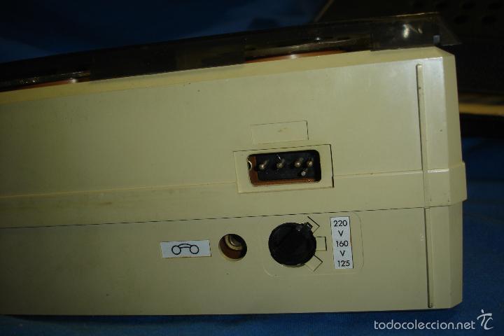 Radios antiguas: MAGNETÓFONO MARCA ELBE. 008 - REDUCIDO TAMAÑO - FUNCIONA - Foto 2 - 57609380