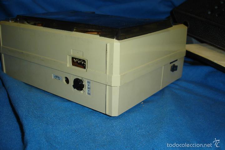 Radios antiguas: MAGNETÓFONO MARCA ELBE. 008 - REDUCIDO TAMAÑO - FUNCIONA - Foto 3 - 57609380