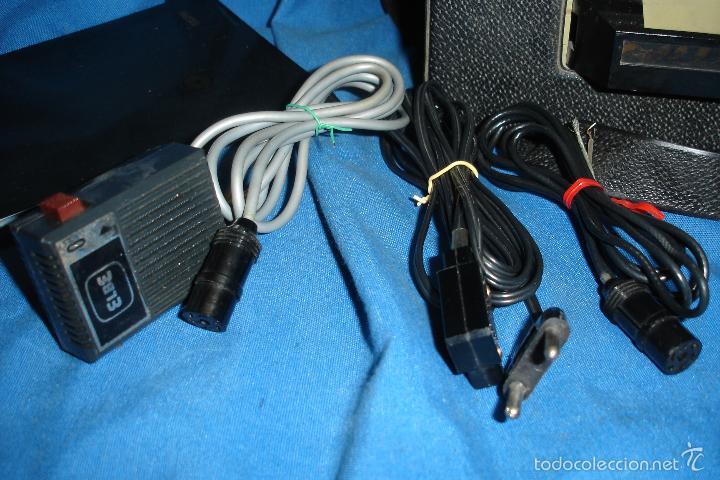 Radios antiguas: MAGNETÓFONO MARCA ELBE. 008 - REDUCIDO TAMAÑO - FUNCIONA - Foto 6 - 57609380