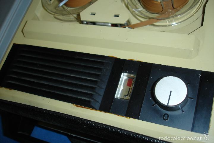 Radios antiguas: MAGNETÓFONO MARCA ELBE. 008 - REDUCIDO TAMAÑO - FUNCIONA - Foto 7 - 57609380