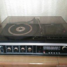 Radios antiguas: TOCADISCOS FARO 723 FUNCIONANDO. Lote 57609764