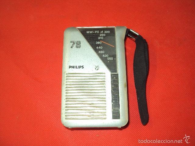 RADIO PHILIPS (Radios, Gramófonos, Grabadoras y Otros - Transistores, Pick-ups y Otros)