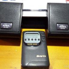 Radios antiguas: RADIO AIWA SUPER BASS CON ALTAVOCES STEREO. Lote 57684861
