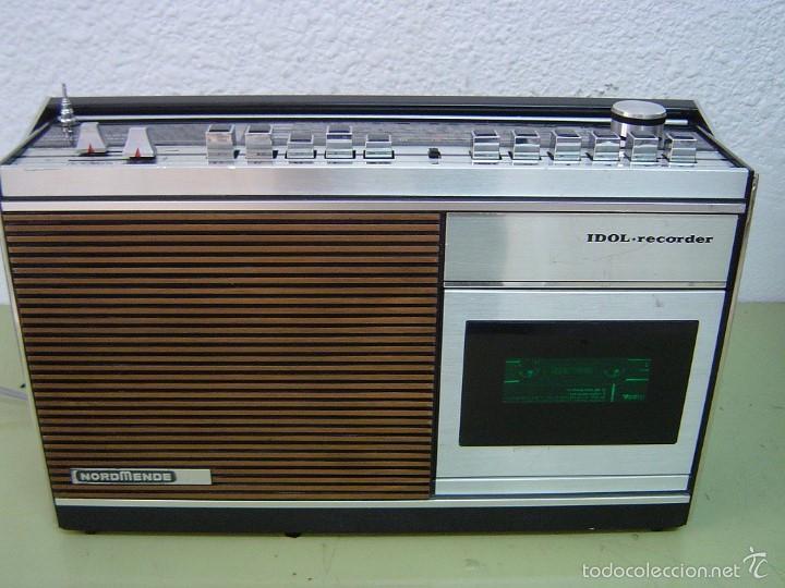 RADIO NORDMENDE IDOL+RECORDER (Radios, Gramófonos, Grabadoras y Otros - Transistores, Pick-ups y Otros)