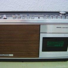 Radios antiguas: RADIO NORDMENDE IDOL+RECORDER. Lote 194344436