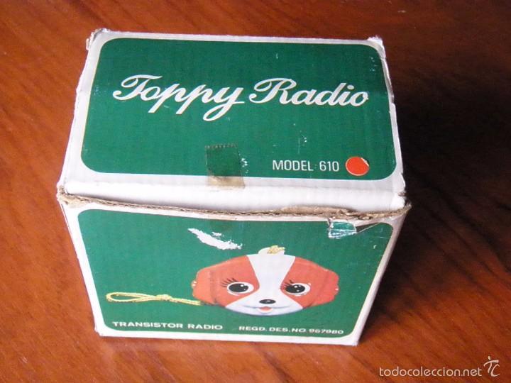 RADIO TOPPY FUNCIONANDO (Radios, Gramófonos, Grabadoras y Otros - Transistores, Pick-ups y Otros)