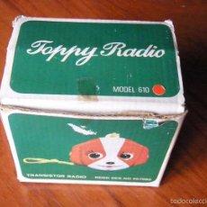 Radios antiguas: RADIO TOPPY FUNCIONANDO. Lote 57871450