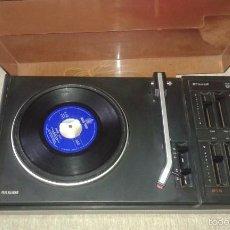 Radios antiguas: TOCADISCOS PHILIPS 614. Lote 57889745