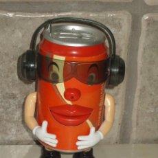 Radios antiguas: RADIO LATA ,BOTELLA DE COCACOLA COCA-COLA.. Lote 57933301