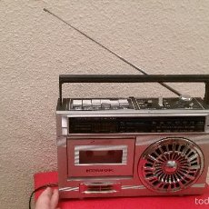 Radios antiguas: ANTIGUO TRANSISTOR RADIO CASSETTE INTERNATIONAL SW 2121 RECORDER. Lote 57976879