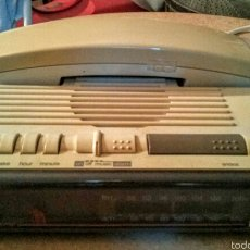 Radios antiguas: RADIO RELOJ DESPERTADOR CON TELÉFONO INCORPORADO . Lote 58148543