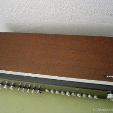 Radios antiguas: RADIO DE MADERA ERRES SE VENDE SIN ALTAVOCES, SOLO LA RADIO. Lote 58209237