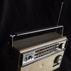Radios antiguas: PRECIOSA RADIO TRANSISTOR SANYO ALL WAVE DELUXE . Lote 58226768