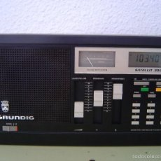 Radios antiguas: RADIO MULTIBANDAS GRUNDIG SATELLIT 300. Lote 58301408