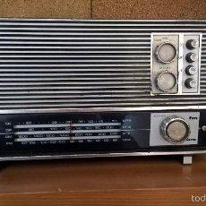 Radios antiguas: RADIO INTER MODELO EUROMODUL 101. BELLO TRANSISTOR QUE FUNCIONA.. Lote 58380272