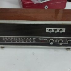 Radios antiguas: RADIO ANTIGUA MARCA INTER. Lote 58381466